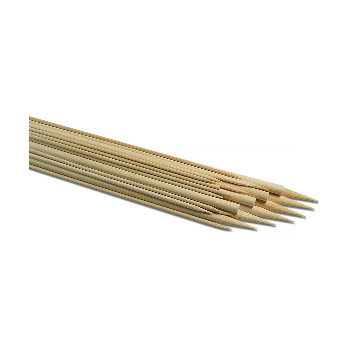 Bețe din Bambus, 5 Milimetri x 30 Centimetri, 12 Bucăți, Meyco, 66176
