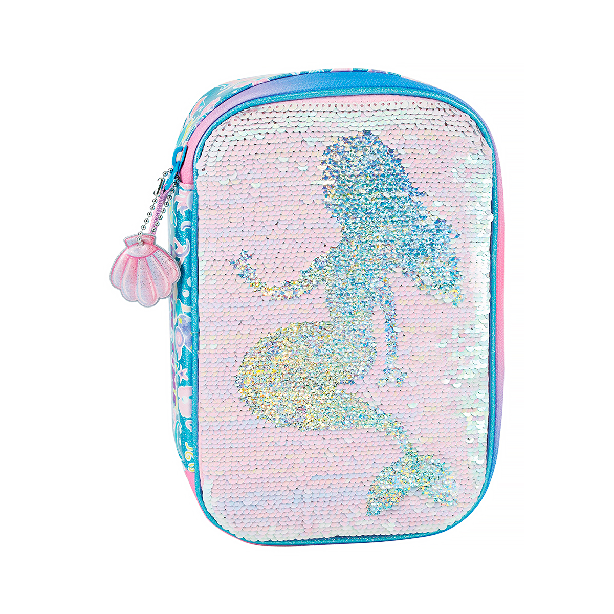 Penar Neechipat cu Paiete Reversibile, Fun Time Mega Clever Pack, Mermaid, Tiger Family, FTGM-CP01