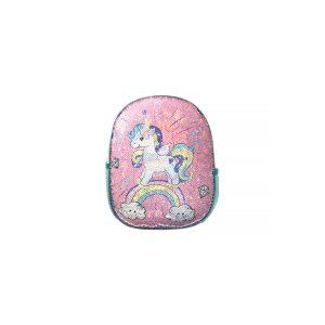 Ghiozdan Pentru Grădiniță cu Paiete Reversibile, 31 Centimetri, Multicolor, Unicorn, Daco, GH225
