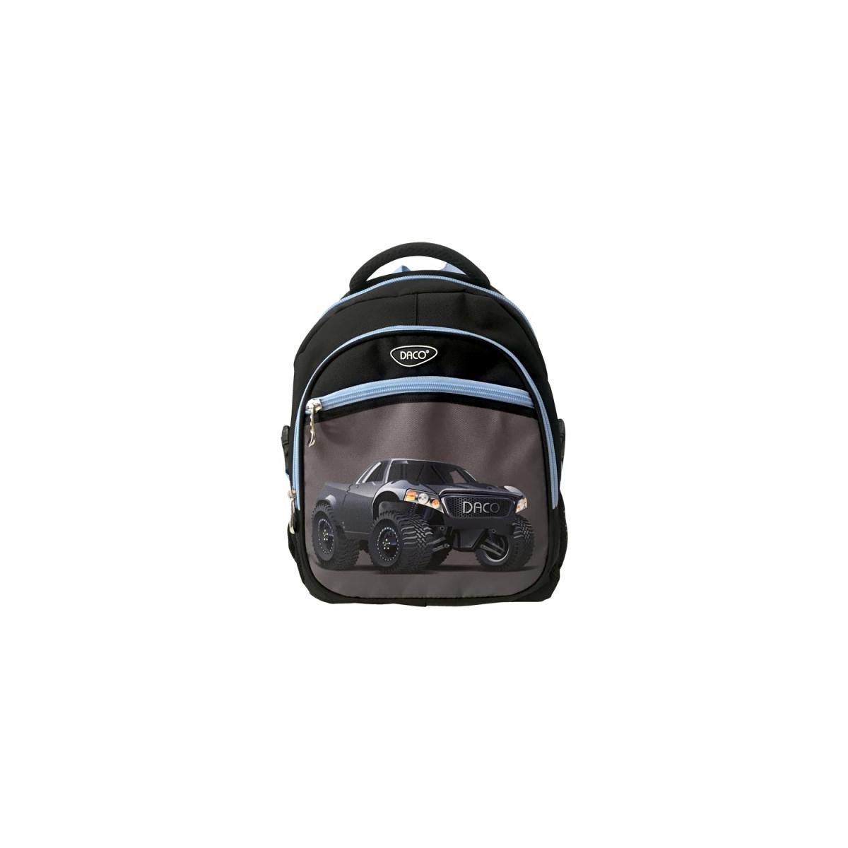 Ghiozdan Pentru Școală, 38 Centimetri, Negru, Truck, Daco, GH361