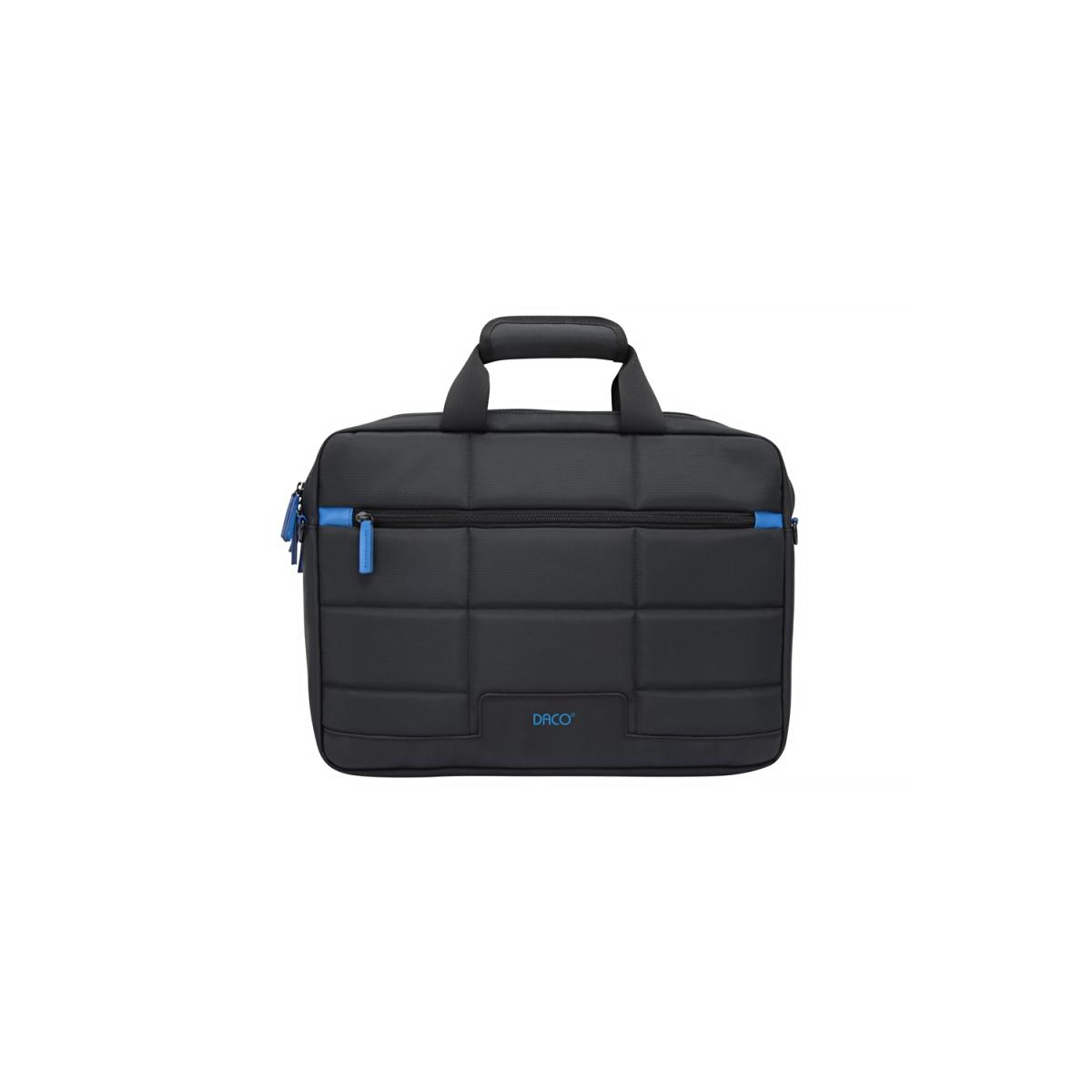 Geantă Pentru Laptop, 16 Inch, Negru & Albastru, Daco, GL163