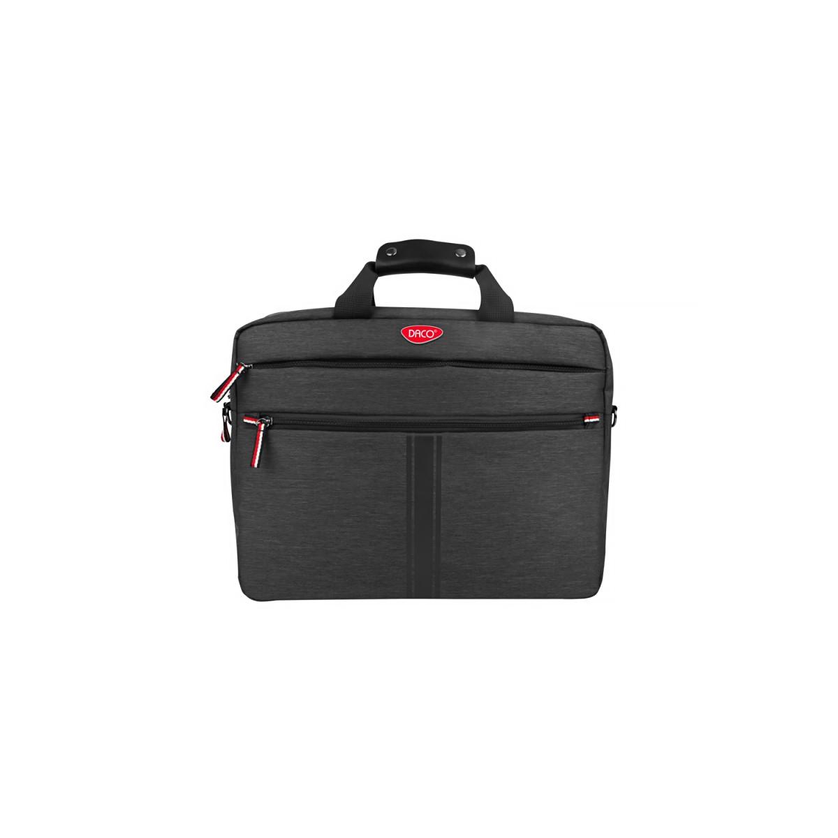 Geantă Pentru Laptop, 15.6 Inch, Negru & Roșu, Daco, GL164