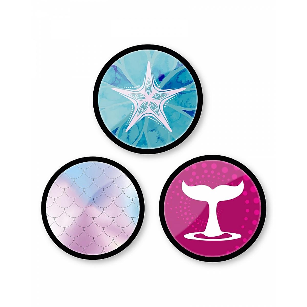 Set Insigne Pentru Troller, 3 Bucăți, Oceania, Nikidom, ND-9126