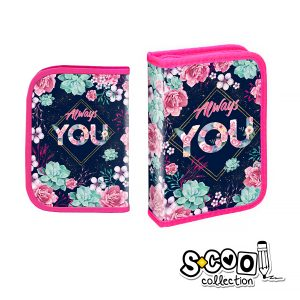 Penar Echipat cu Fermoar & Două Extensii, Model Always You, S-Cool, SC737