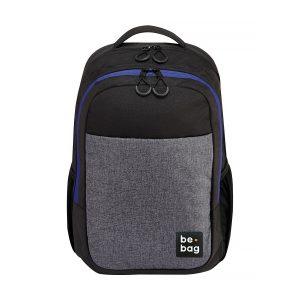 Rucsac Ergonomic Be.Bag, Be.Clever, Gri & Negru, Herlitz, 24800020