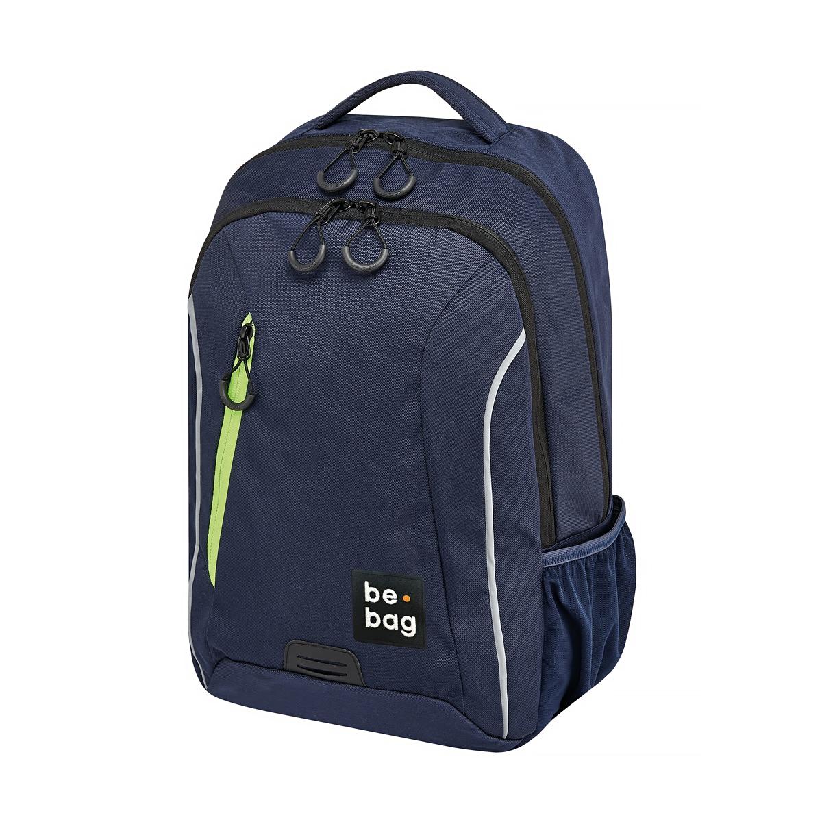 Rucsac Ergonomic Be.Bag, Be.Urban, Albastru Indigo & Verde, Herlitz, 24800105