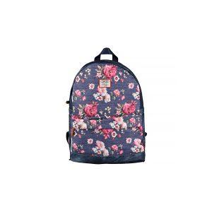 Ghiozdan Pentru Școală, 40 Centimetri, Multicolor, Flori, Daco, GH436