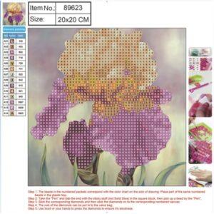 kit-mozaic-cu-pietre-acrilice-dimensiune-200-x-200-mm-model-flori-6149-1